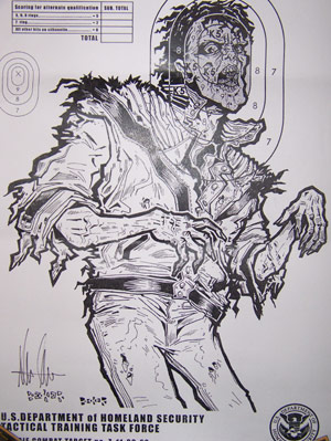 Michael Jackson zombie sketch drawing