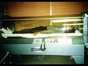 Michael Jackson in the morgue