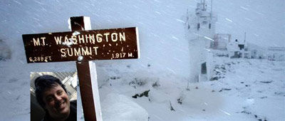 Mt. Washington Summit sign