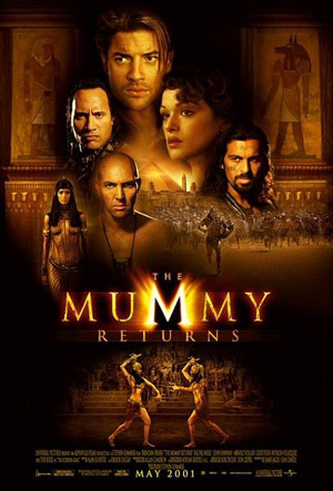 The Mummy - movie poster