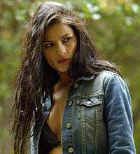 Natassia Malthe as Sonja in Skinwalkers as a werewolf