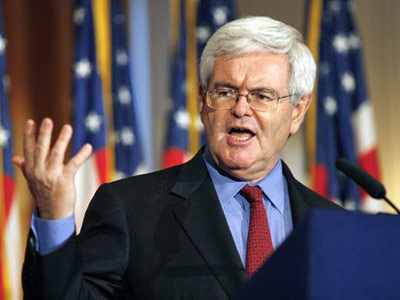 Newt Gingrich - Republican presidential nominee