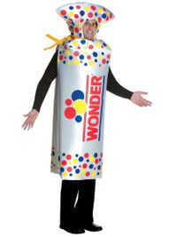 Wonder Bread in a costume