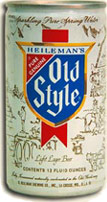 Old Style canned beer