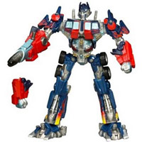 Optimus Prime toy figure