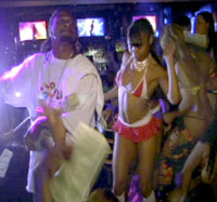 Pacman Jones in a strip club with strippers