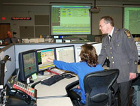 Police sergeant in 911 call center