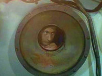 Putin in a submarine