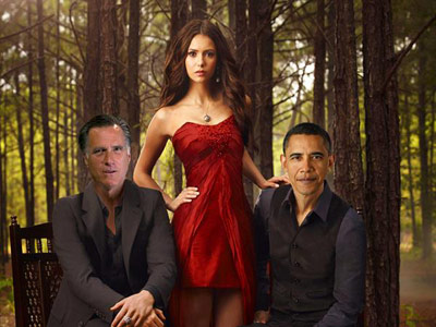 Romney Obama in The Vampire Diaries