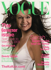 Sarah Palin Vogue cover