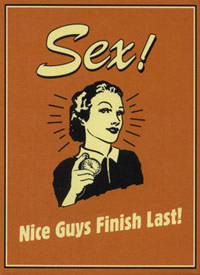 Sex - Nice Guys Finish Last poster