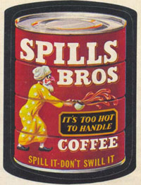 Spills Brothers coffee