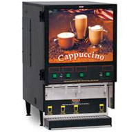 cappuccino machine like gas stations