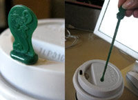 Starbucks stir stick