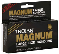 Trojan Magnum condoms box