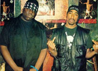 Tupac and Biggie hanging out