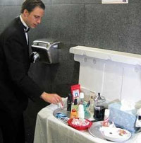 Bathroom Attendant black bathroom attendant - healthydetroiter