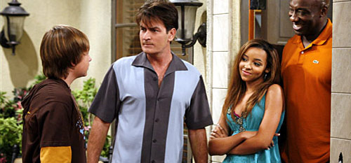 Two and a Half Men TV show with Charlie Sheen