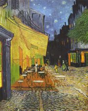 Van Gogh cafe painting