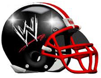 WWE football helmet for the NFL