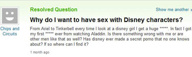 Yahoo question 1