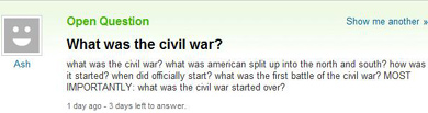 Yahoo question 5