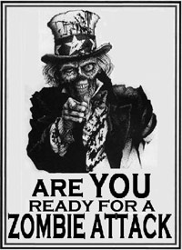 Zombie Attack preparation poster