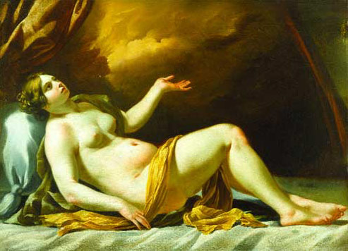 17th century nude painting of a woman