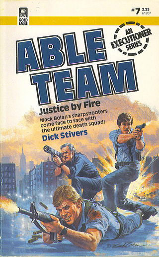 Able Team: Justice by Fire