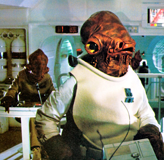 Admiral Ackbar It's a Trap joke
