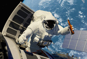 astronaut drinking beer in space - photo #10