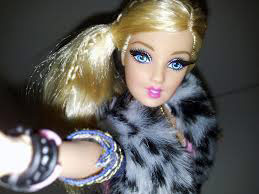 Barbie Doll taking selfie