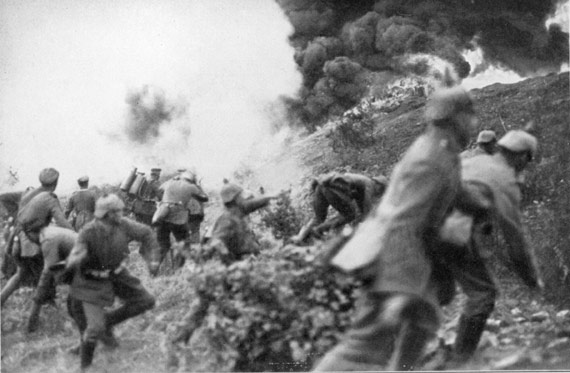 Battle of Verdun troops