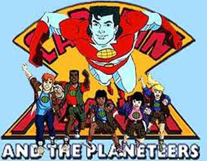 Captain Planet and the Planeteers cartoon