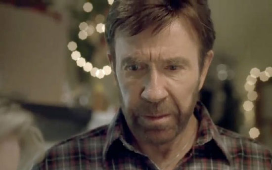 Chuck Norris crying