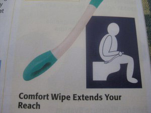 Comfort Wipe product description
