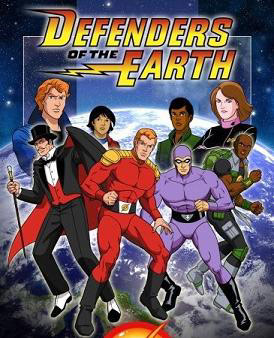 Defenders of the Earth cartoon