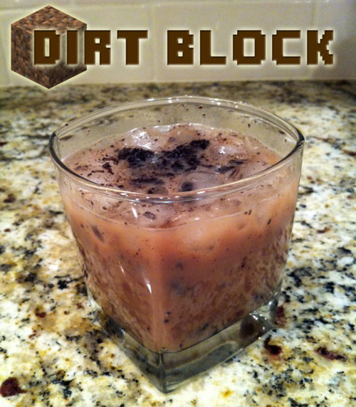 Dirt Block liquor drink