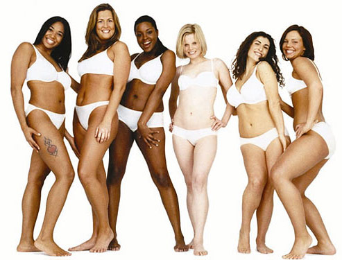 "Dove ""Real Women"" commercial models"