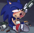 Drunk Sonic the Hedgehog