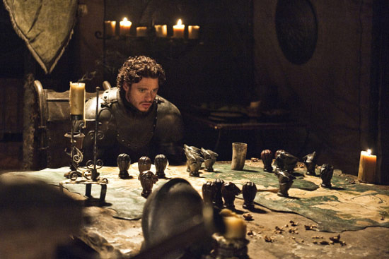 Games of Thrones playing chess
