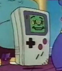 Gameboy character on Captain N
