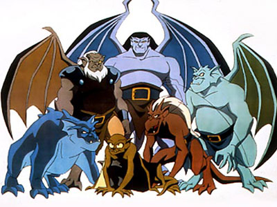 Gargoyles cartoon