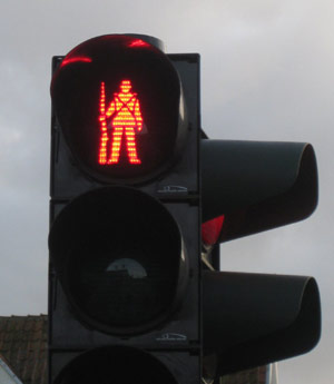 German crosswalk signal