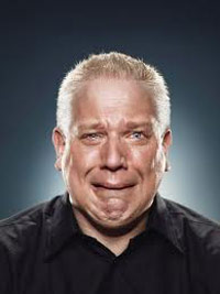 Glenn Beck crying