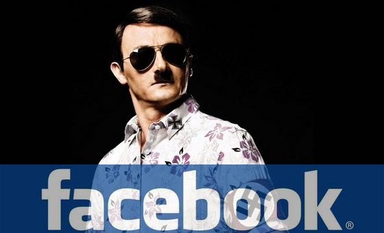 Hitler on Facebook