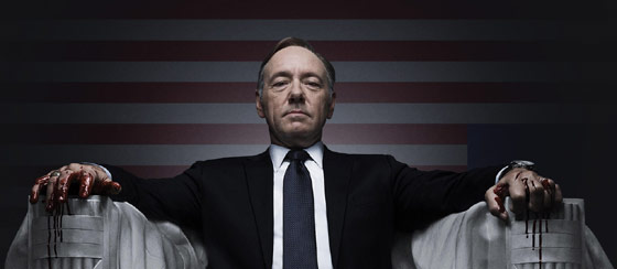 Kevin Spacey in House of Cards (TV show)
