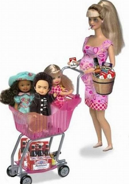 Illegal Immigrant Barbie Doll