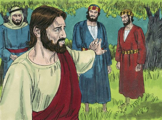 Jesus Christ and Judas Iscariot