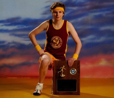 Michael Cera wins at sports
